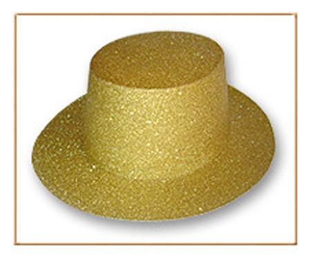 Sombrero carnaval en cartón y escarcha